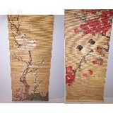 Панно бамбук Птицы 36*90см