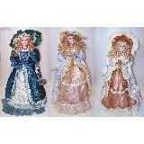 Кукла фарфор Принцесса в подарочной коробке 80см