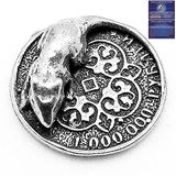 Фигура кошельковая металл Мышь на миллионе рублей