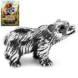 Фигура кошельковая металл Медведь