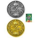 Фигура кошельковая металл Монета решений с/з