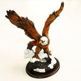Орел с поднятыми крыльями фигура из полистоуна 32*27*15 см