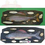 Панно Рыба муляж (Хариус) 36*13см