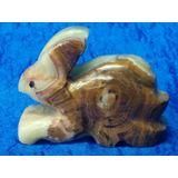 Кролик (Заяц) оникс 5.5*4.5 см