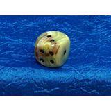 Кубик игральный (кости) оникс 2*2 см