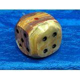Кубик игральный (кости) огромный оникс 5.5*5.5 см