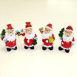 Дед мороз с подарками фигурка полист. 9*5 см (1уп-4шт)1шт