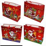 Пакет подарочный 3d новогодний 32*26*11см 4вида (1уп-12шт)1шт No.:284A-4