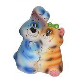 Копилка керамическая Парочка (Кролик Кот) 30 см