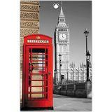 Доска сувенирная разделочная Лондон 28х18х0,6 см. (фанера)