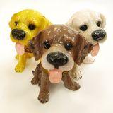 Копилка Собака стилизованная с языком 25*19*17 см гипс