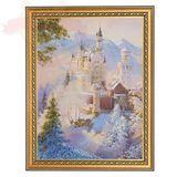 Картина Сказочный замок (30х40 см)(каменная крошка)