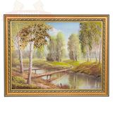 Картина Мост в рай (30*40 см) (каменная крошка)