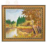 Картина Тайный водоем (30*40 см)(каменная крошка)