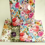 Пакеты подарочные Flowers EF-1102L-4 УПАКОВКА 12шт (1шт=43р, 32*26*10 см)