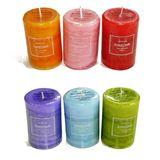 Свеча AROMA Art цилиндр 10*7 см (6 цветов)