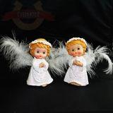 Ангелок полист.пух 10 см два вида (1уп-2шт)1шт