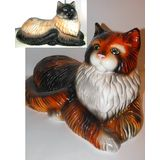 Фигура керамическая Кот большой лежачий  55*31 см