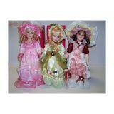 Кукла фарфор в бальных платьях 40см п/у