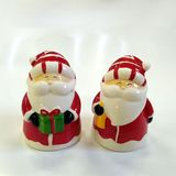 Дед мороз красный керамика 12*8*9 см