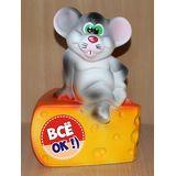 Копилка Мышонок на сыре ВСЕ ОК 21 см. (керамика)