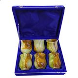 Набор из 6-и стаканов оникс 3 (коробка бархат 24*19*7 см)