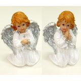 Ангел полист.s w с Библией/с крестиком 24*16*13 см