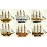 Парусник дерево wooden ships (6 видов) 33*30*6 см п/у
