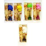 Ароматизатор стекло reed diffuser Paris roses (6 ароматов) 27*11*7 см type:40115