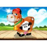 Копилка керамическая Корова в шляпе Счастье есть 18*19 см