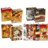 Пакеты подарочные XXXL Мужские А-1951-1 УПАКОВКА 12шт (1шт=37р, 32*44*11 см)