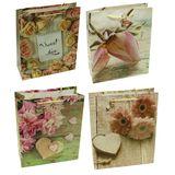 Пакеты подарочные Цветы Sweet love В-927-2 УПАКОВКА 12шт (1шт=30р, 26*32*10 см)