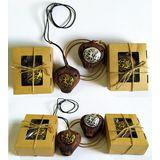 Окарина (муз.инструмент) глина керамика  Древние рисунки 6.5*6*4 см п/у