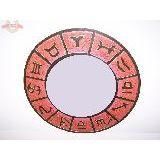Зеркало Знаки зодиака  60 см. Индонезия