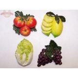 Магнит Овощи, фрукты (1уп-12шт) 1шт