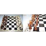 Шахматы Гроссмейстерские дерево  (доска дерево) Россия