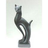 Кошка Рысь керамика 21см