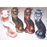 Кошка Маркиза керамика 25см