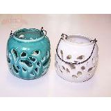 Подсвечник подвесной керамика глазурь 12*12см (1уп-3шт) 1шт