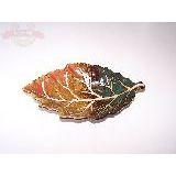 Тарелка декоративная керам. Лист 22.5*14см (1уп-4шт)1шт