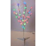 Дерево неоновое Снежинки 75см (светодиоды) 220В