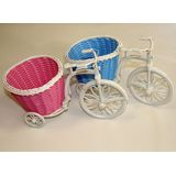 Велосипед с Корзиной пластик (3цвета) 28*17см