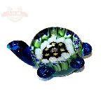 Черепаха стекло цветное 10*6см