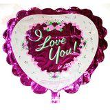 Шар фольга (с клапаном) Сердце I love you 60*65 см