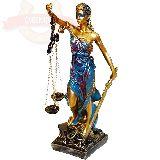Фемида Богиня правосудия 29*7.5см