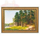 Картина Прибрежные сосны(20х30 см)