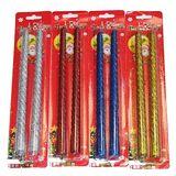 НАБОР из 2-х свечей Merry Chrismas L-25см (1шт-25р) 4 цвета