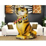 Копилка керамическая Тигр в шарфе BE HAPPY! 21*14 см